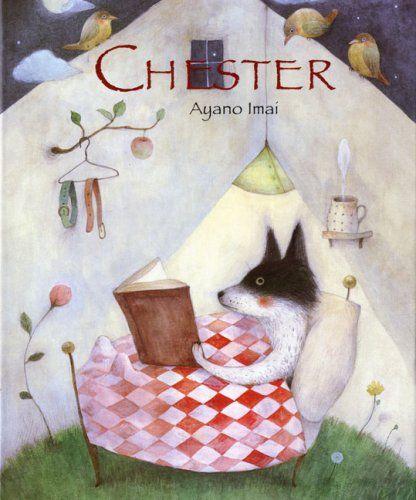 Chester ブックアート イラストアート キュートなイラスト