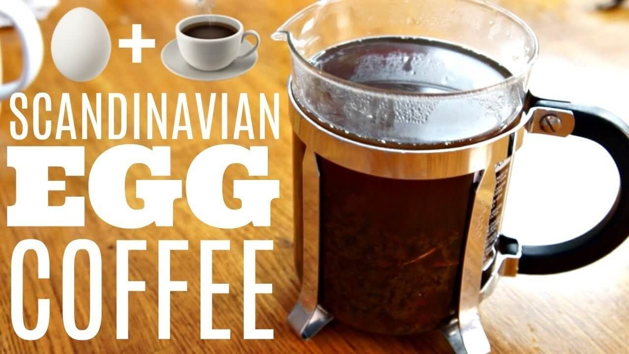 Scandinavian Coffee Recipe In 2020 Egg Coffee Coffee Recipes Raw Dog Food Recipes