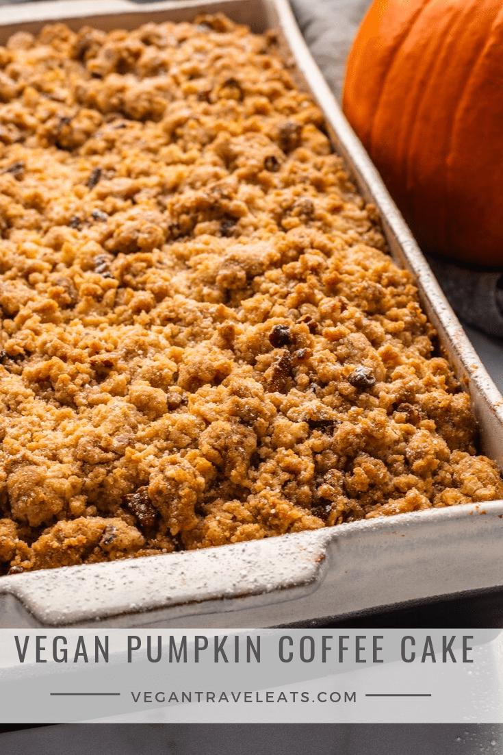 Vegan Pumpkin Coffee Cake Recipe Vegan pumpkin, Vegan