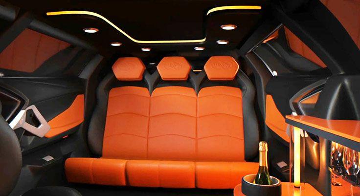 Hold on tight! Lamborghini Aventador Limousine ...