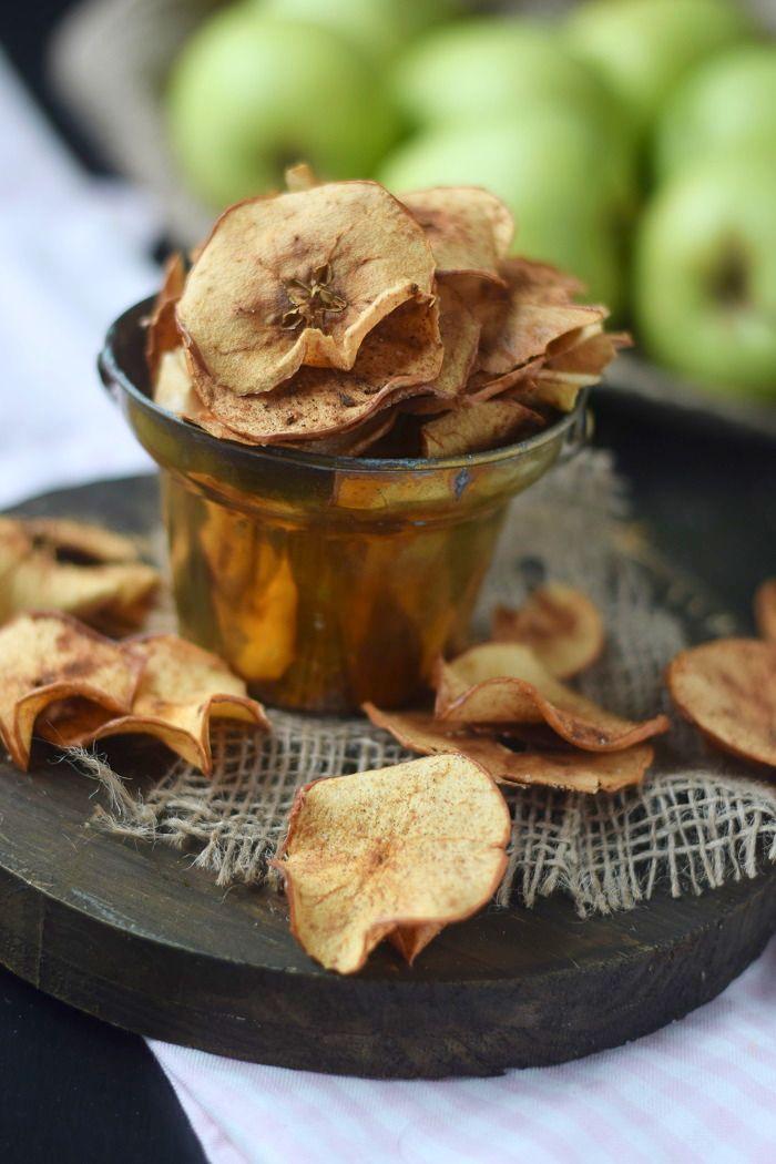 Es knuspert Bratapfel Chips | Das Knusperstübchen