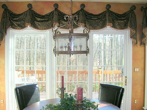 Kitchen Window Treatments Format Of Interior Designs Kitchens Tuscany Custom Window Treatment