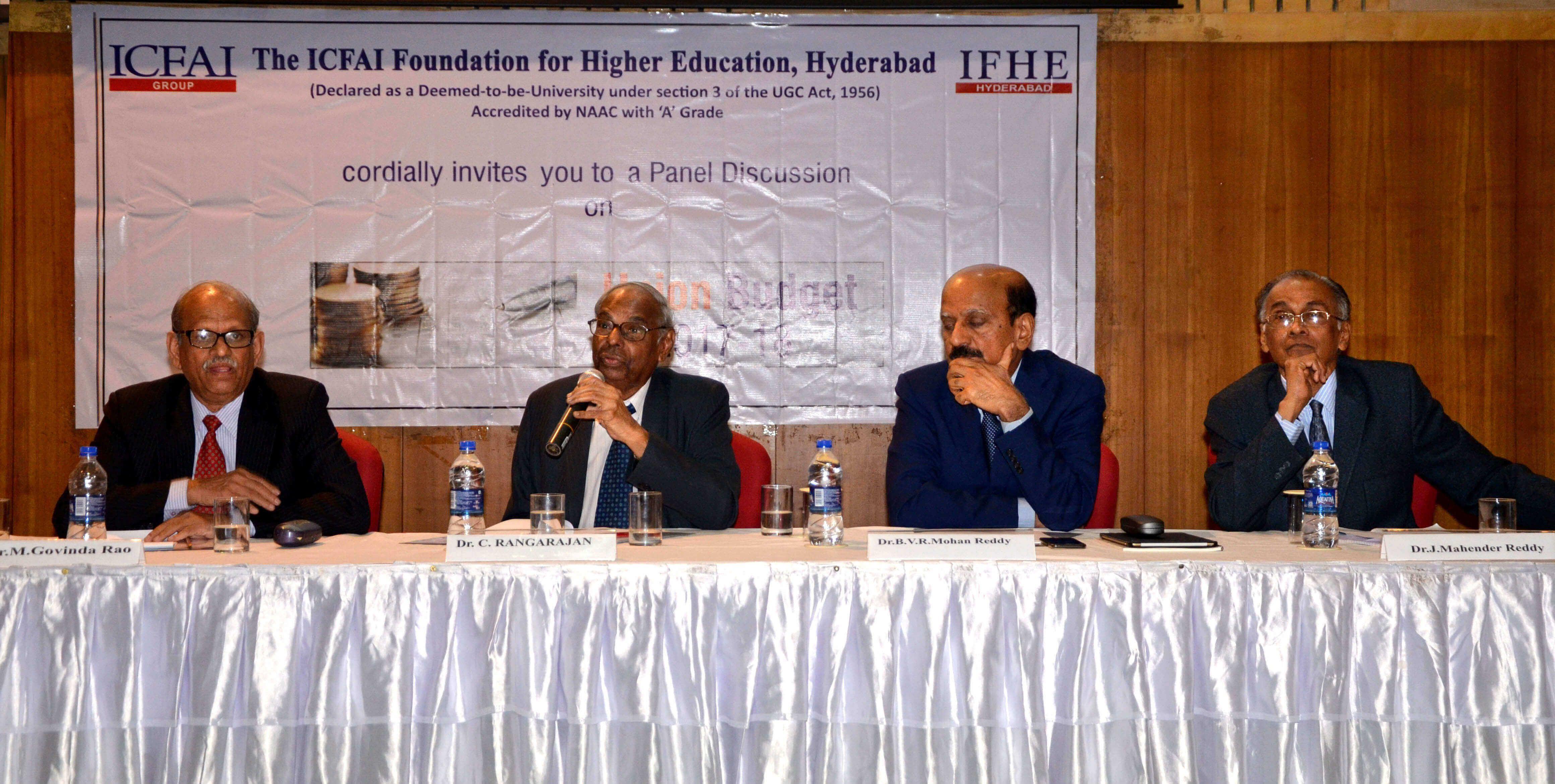 Former Governor of RBI, Dr  C Rangarajan Speaks on Union