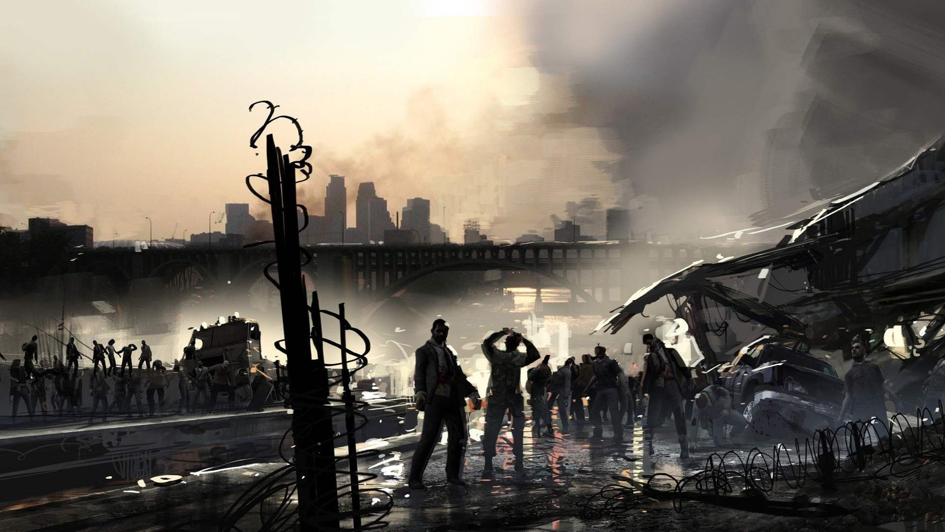 Res 1920x1080 Wallpaper 12 Wallpaper From Left 4 Dead 2 Zombie Wallpaper Zombie Background Pictures
