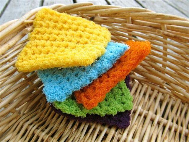 13 Dishcloths & Scrubbies Crochet Patterns | Moños