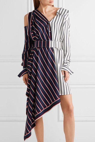 Off Shoulder Asymmetric Dress - Multicolour Monse Big Sale Cheap Price Outlet Discounts f5evih