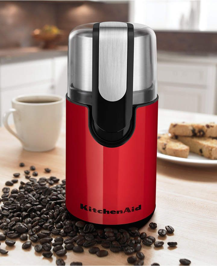 Kitchenaid bcg111 blade coffee grinder with images