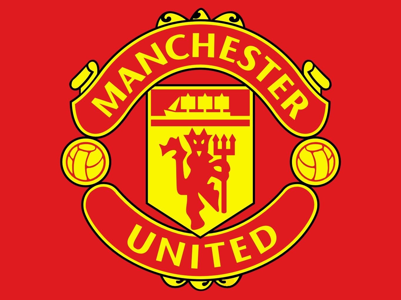 Color of the Manchester United Logo   Manchester united logo, Manchester united wallpaper, Manchester united