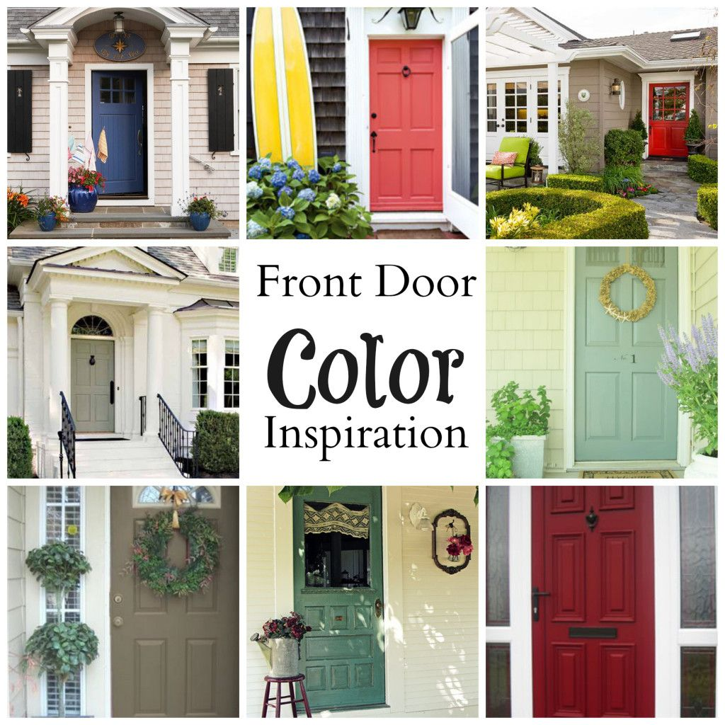 Looking For A New Front Door Color That Looks Good On Gray House
