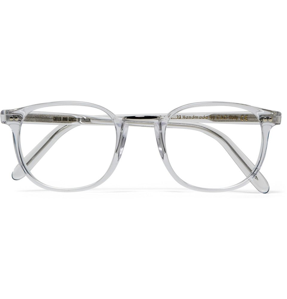 Cutler and Gross Clear Framed Optical Glasses