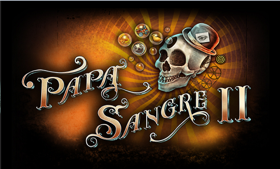 The Official Game Papa Sangre II Ios games, Website logo