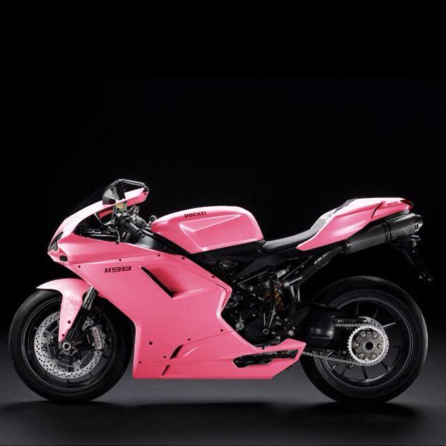 Pink Ducati 1198