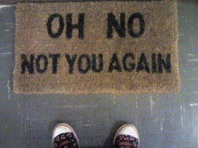 Image via We Heart It https://weheartit.com/entry/133965923 #funny #lol #shoes #tumblr #welcome #doormat