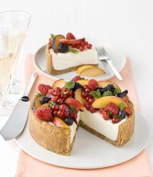 Cheesecake alla frutta -
