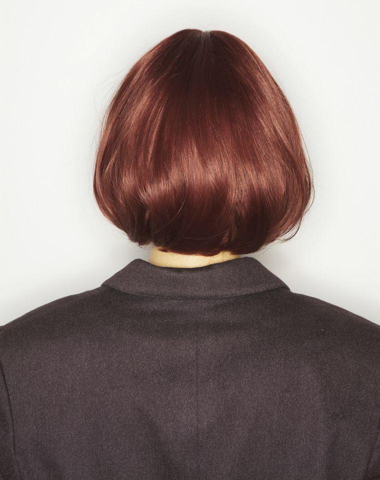 ヘアカラー レッドオレンジ の画像検索結果 オレンジ ヘアカラー ヘアースタイル 髪 色