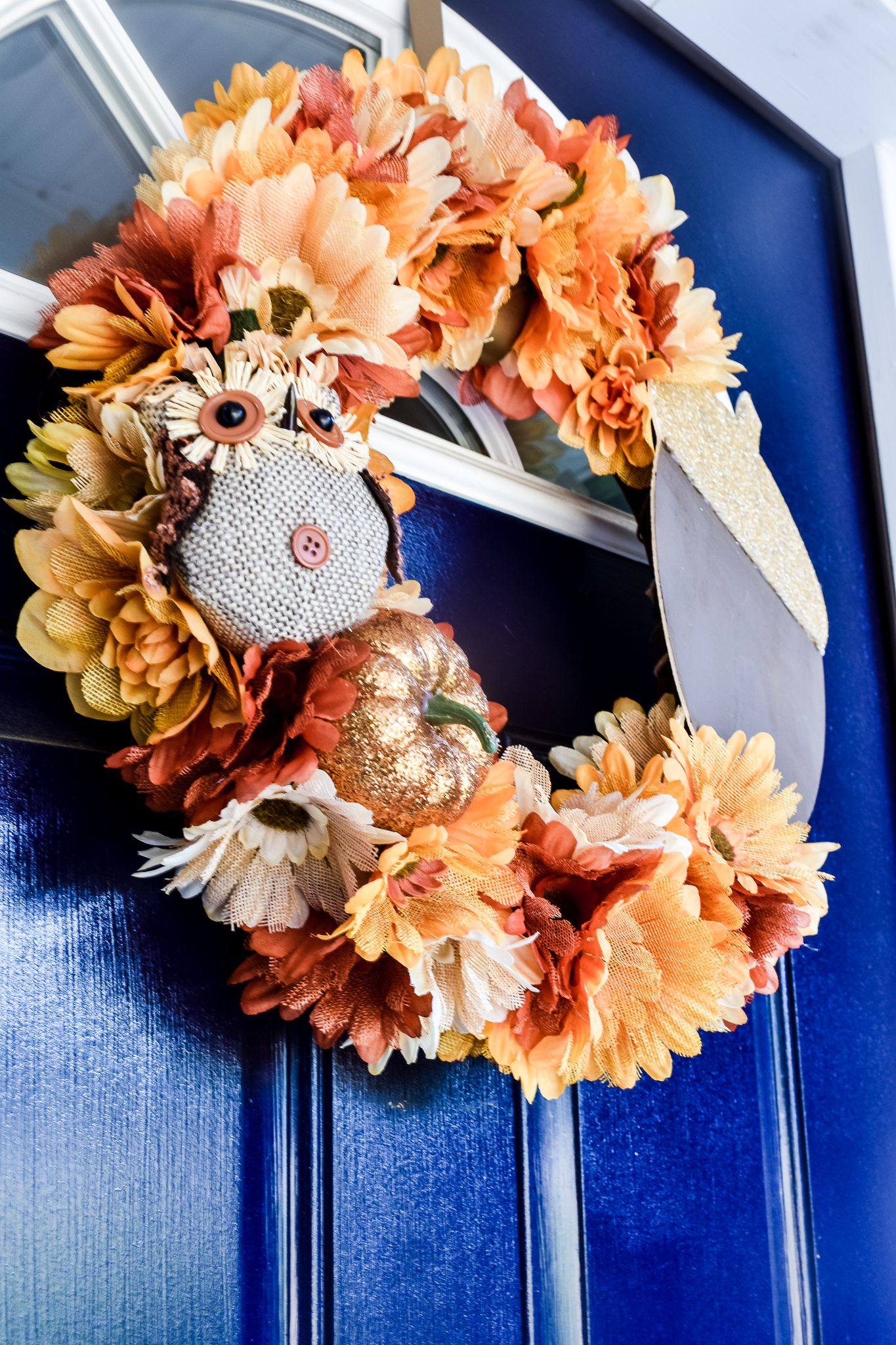 DIY Dollar Tree Fall Wreath For Less Than 20 (With images