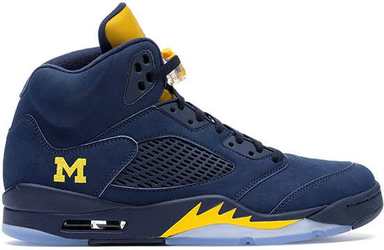 b2239bf8361 Jordan 5 Retro Michigan PE | Products | Jordans, Jordan 5, Air ...