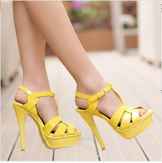 1000  images about Shoes on Pinterest | Sexy, Sandals and Yellow heels