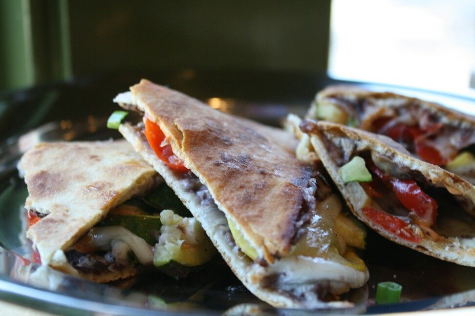 Veggie Fiesta Sandwich. Caution, it will start a party in your mouth