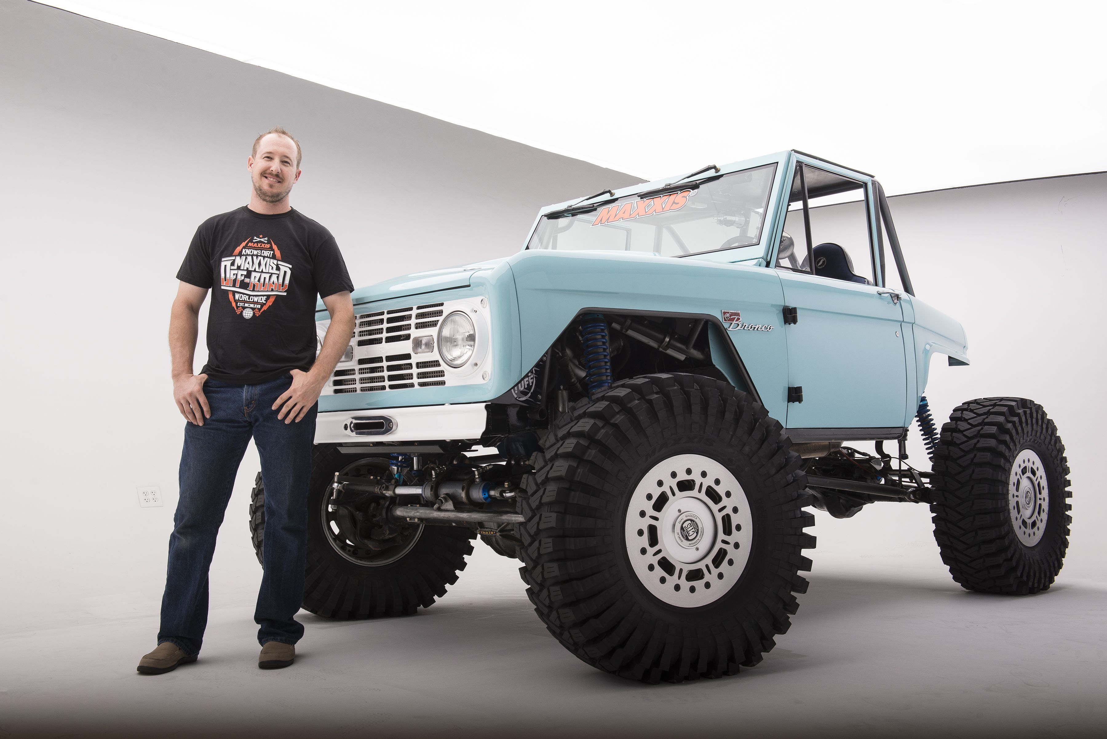 Monster Mike And The Overhauled Jesse James Garage Bronco As Painless Wiring Harness Shot By Boyd Jaynes For