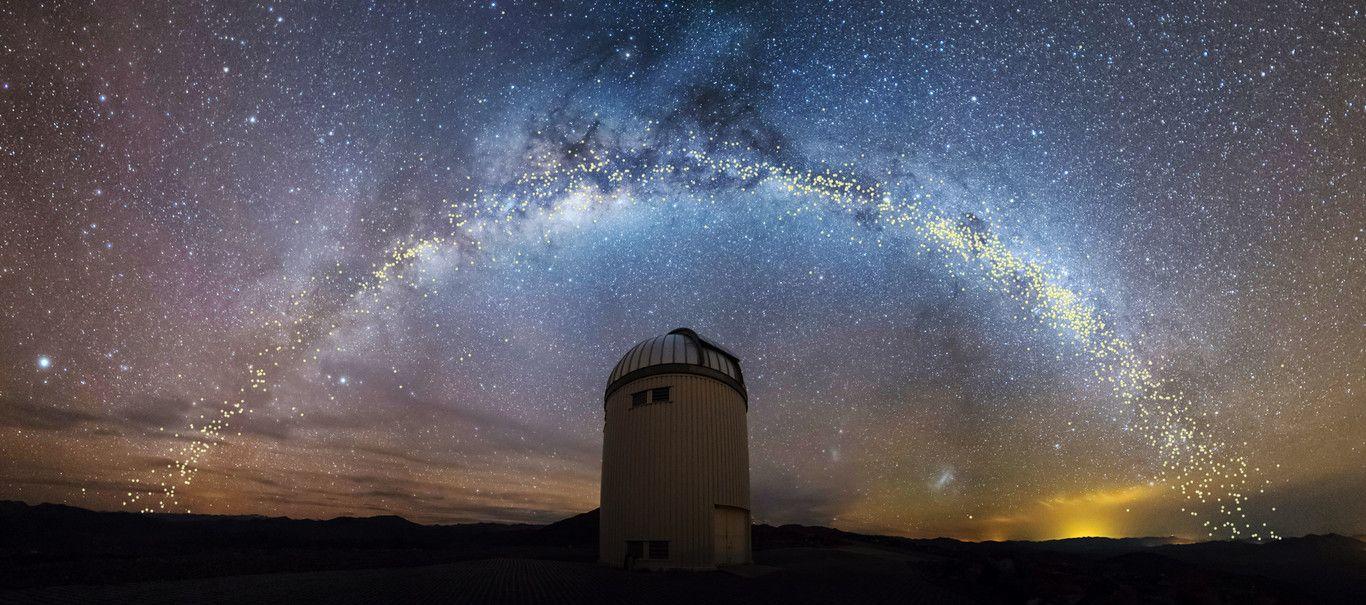 Un nuevo mapa de la Vía Láctea revela su extraña