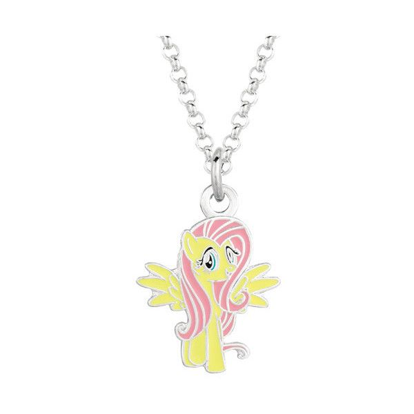 Fine silver plated fluttershy my little pony pendant necklace 16 fine silver plated fluttershy my little pony pendant necklace 16 liked on polyvore mozeypictures Images