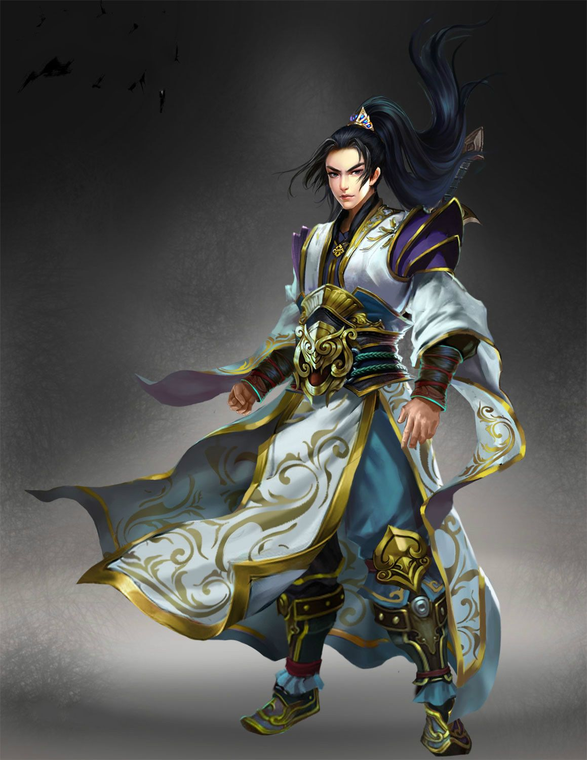 Image result for chinese god of martial arts Fantasy art