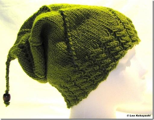 Neue Gratisanleitung: Mütze Slouchy | Mütze, Stricken und Mütze stricken