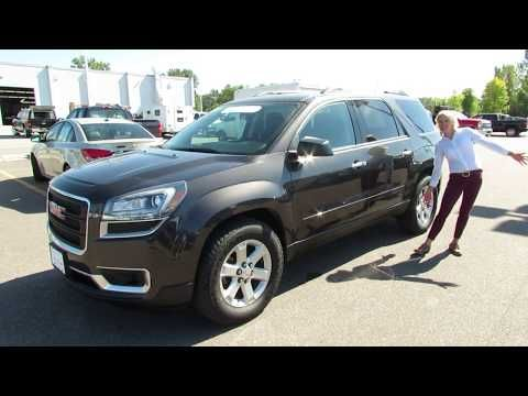 2016 Gmc Acadia P3845a Suv Walk Around Shearer