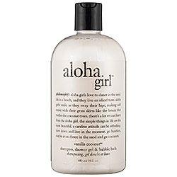 Philosophy Body Wash Love Aloha Girl Takes You To The Beach 3 Philosophy Beauty Shampoo Body Wash Body Wash