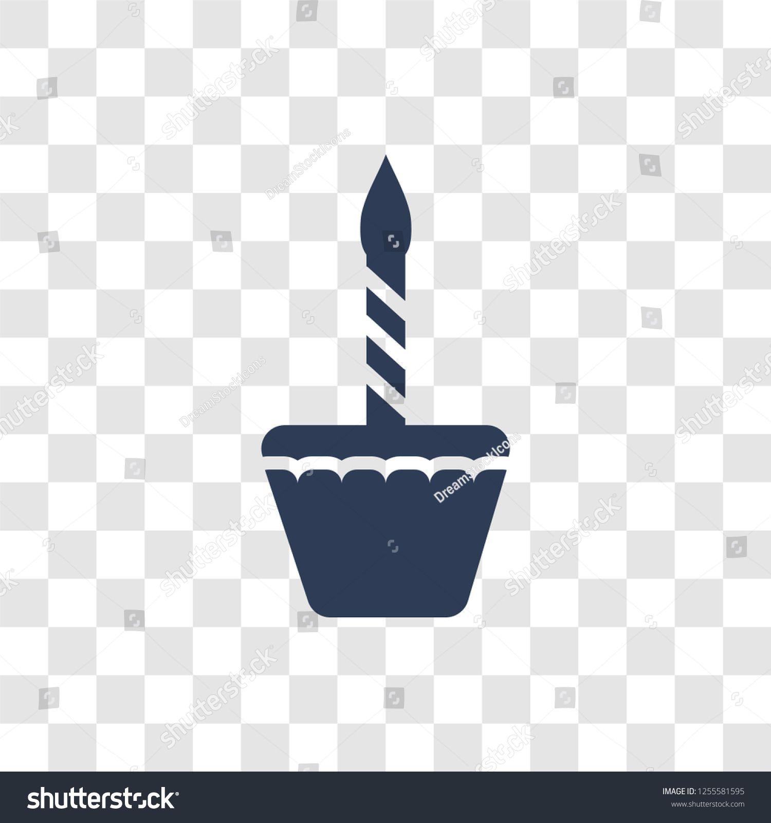 Birthday Icon Trendy Birthday Logo Concept On Transparent