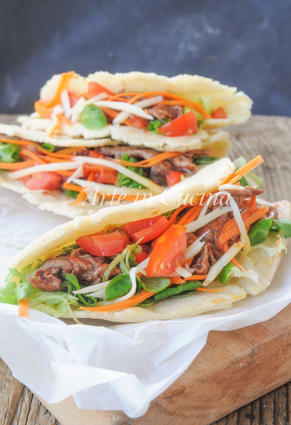 Tacos con carne ricetta messicana facile e veloce vickyart arte in cucina
