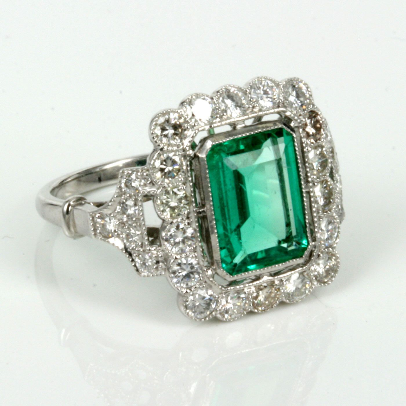 heat p emerald green quartz treated s sharp
