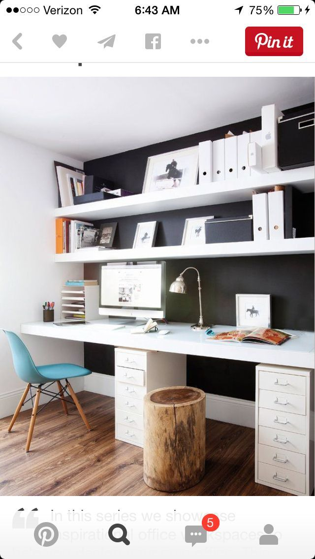 Double Desk Home Office Or Kid In, Double Desk Home Office With Drawers