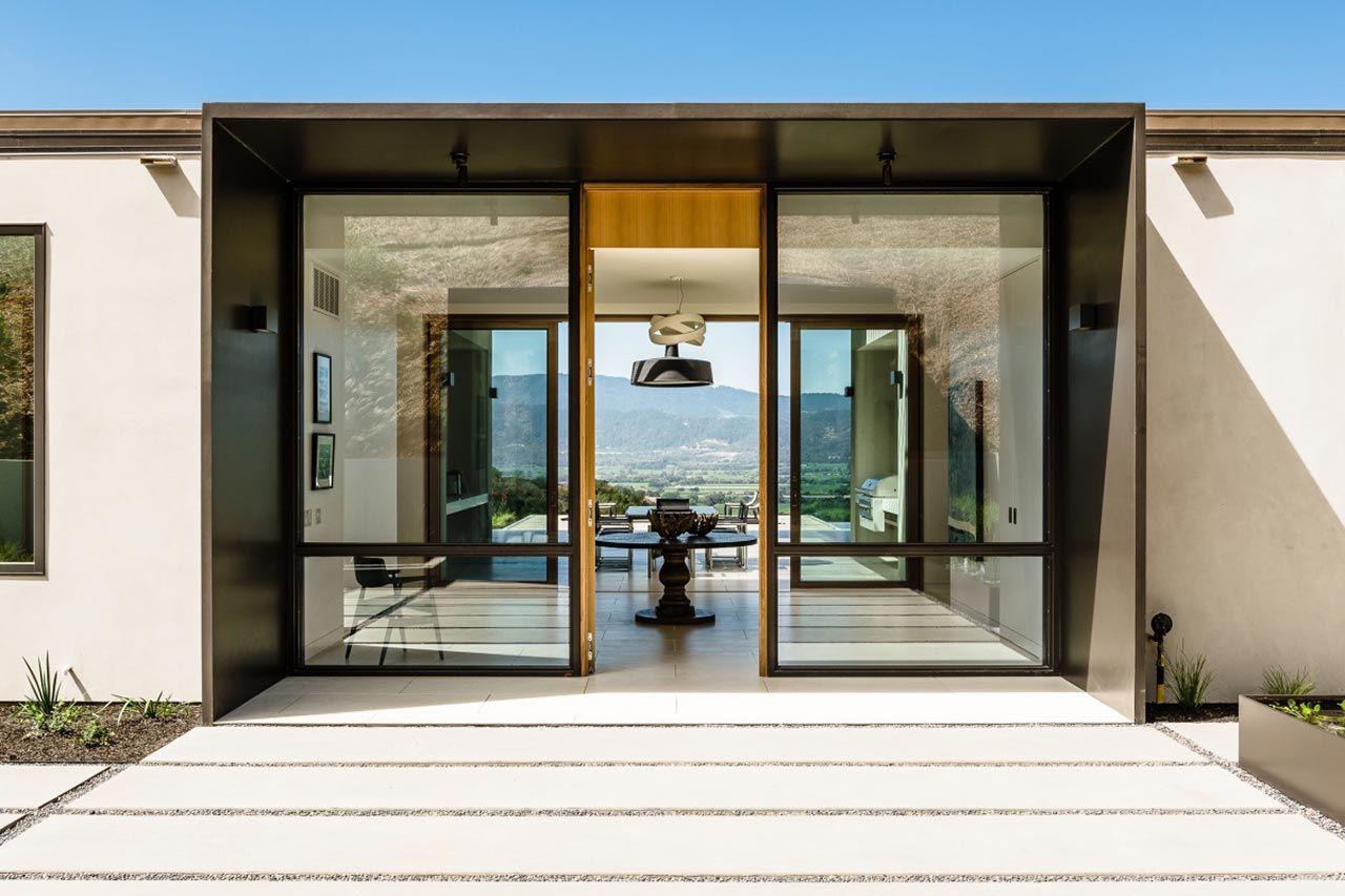 Oakville View Estate 7830 Silverado Trail Napa Ca 94558 Architecture Oakville Residential Architecture