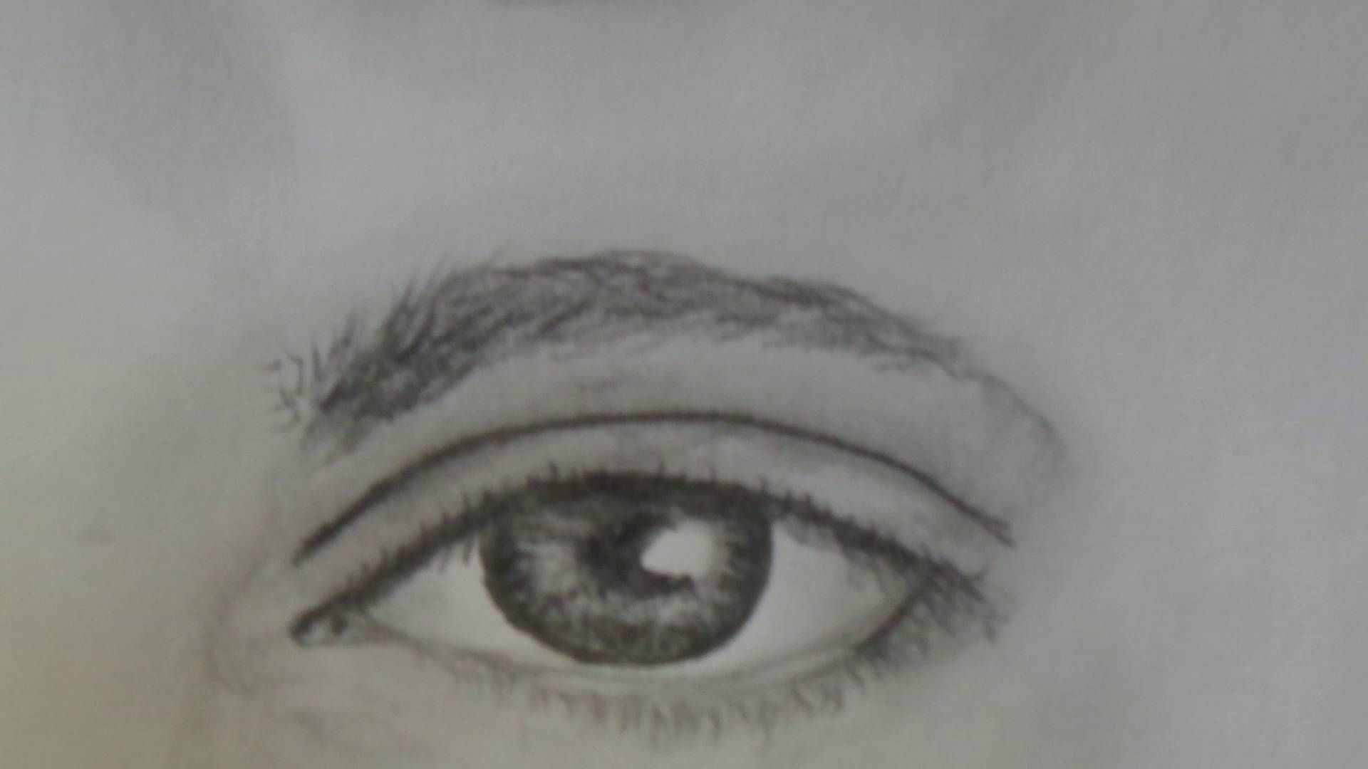 How To Draw A Realistic Male Eye For Beginners Step By Step With Pencil Eye Drawing Tutorials Eye Drawing Male Eyes