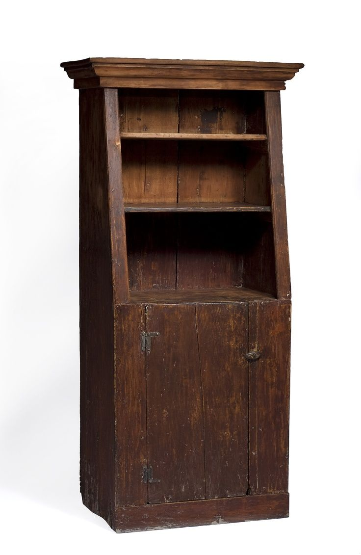 American Canted Cupboard Google Search Cupboards Pinterest  # Meubles Rustiques Anciens