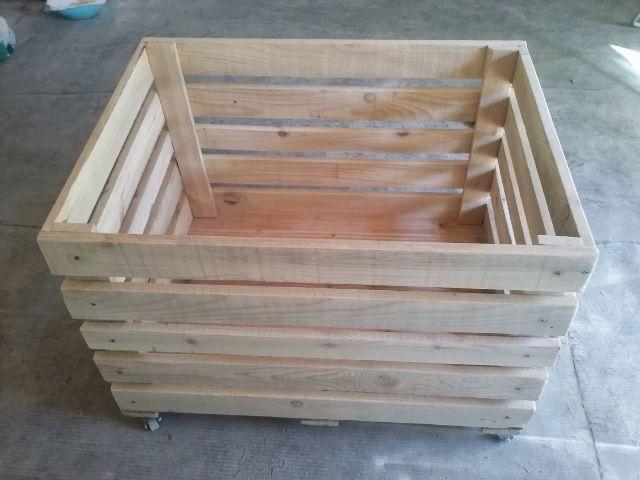 Diy Wooden Pallet Storage Box 101 Pallets Wooden Diy Pallet Storage Wooden Pallets
