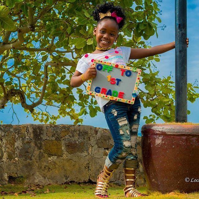 First Grade and Fabulous ----- Shameless Hashtag spree  #FirstGrader #Graduation #Blackgirlmagic #Smartypants #blackgirlsrock #StCroix #VirginIslands #USVI #like #share #enjoy #kidsshoot #childportrait #islandgirl