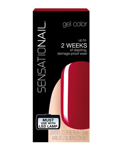 Esmalte de uñas Granate Sensationail | MANICURAS, Nails ...