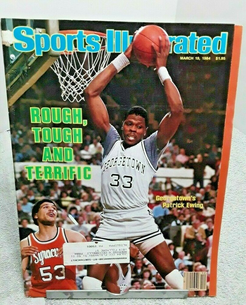 Sports Illustrated March 1984 Patrick Ewing