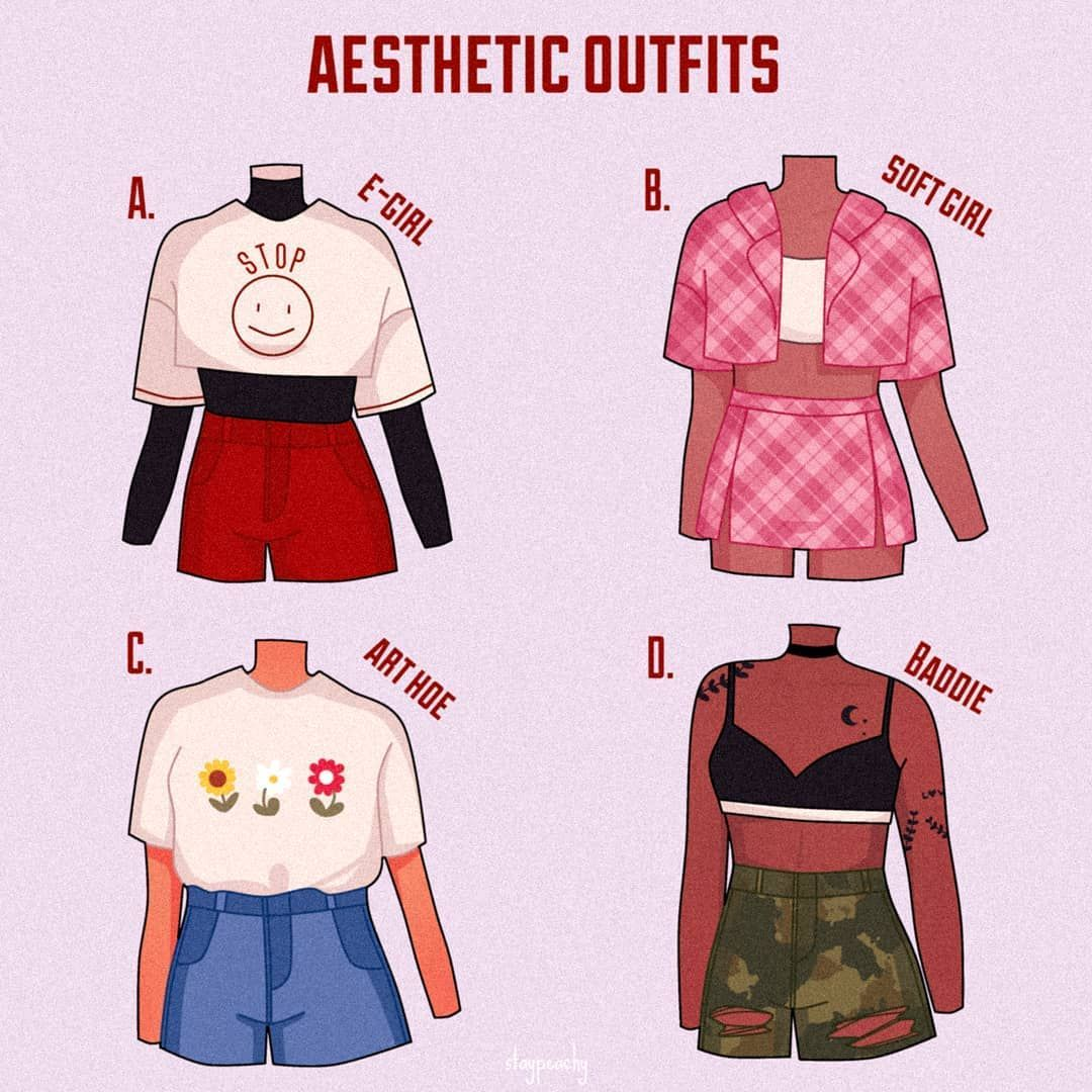 Pin By Kunzeri On Anime Art In 2020 Aesthetic Clothes Drawing Anime Clothes Fashion Design Drawings