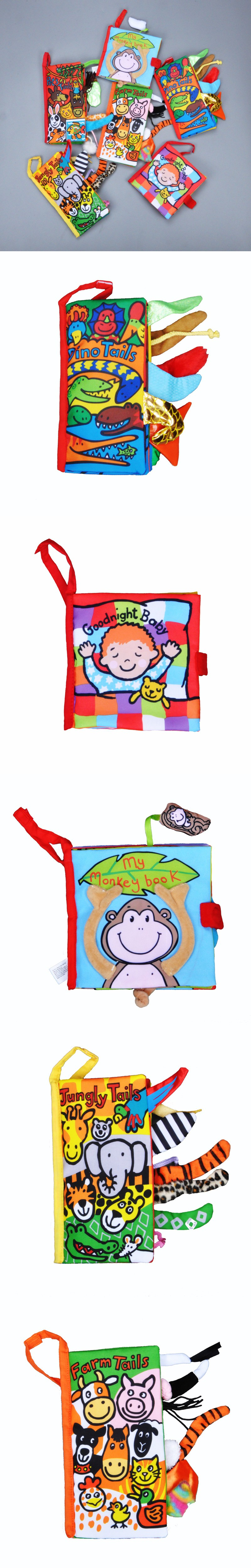 6pcs style Book English Baby Learning Education Books cartoon pet