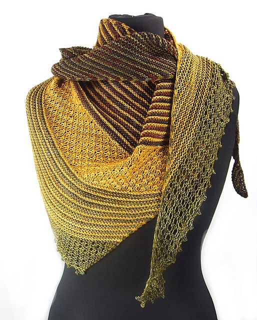 Yours Truly Summer by Michele C Meadows | malabrigo Sock in Ochre, Marte and Turner