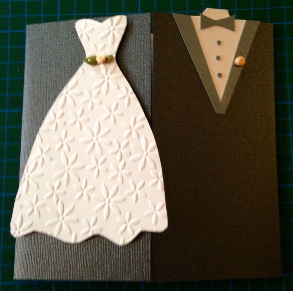 Hochzeitskarte klassisch