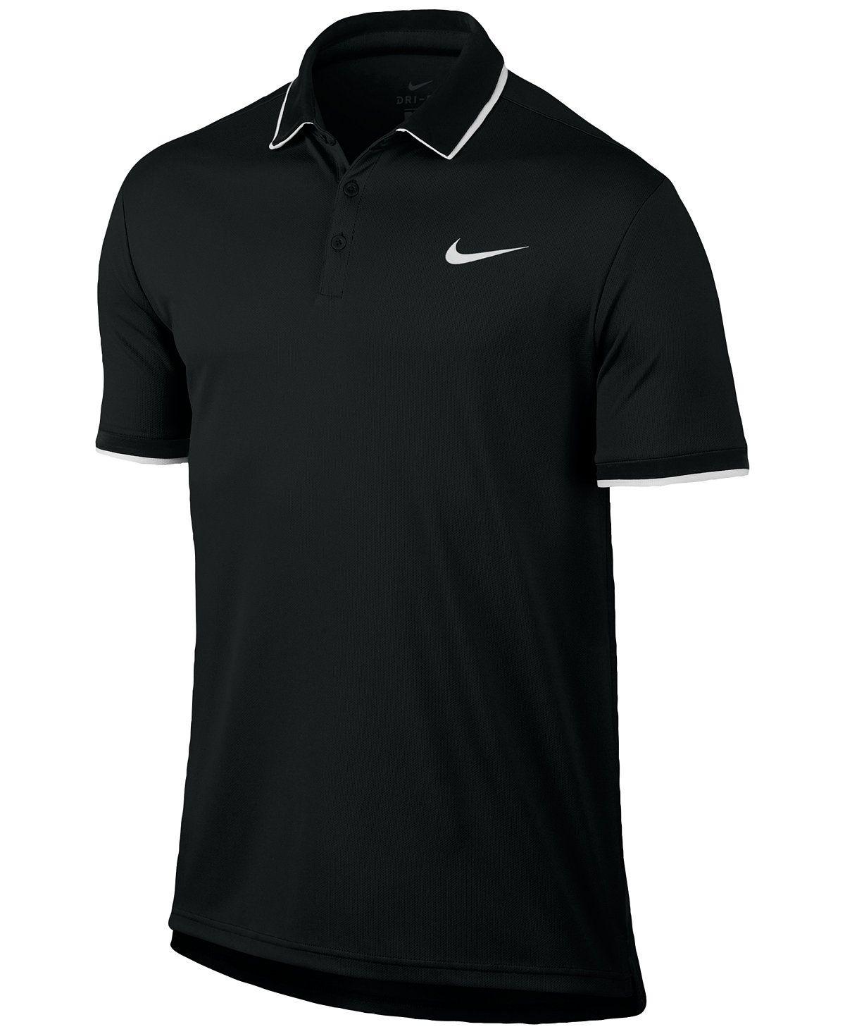 Nike Men S Court Dry Tennis Polo Polos Men Macy S Tennis Polo Nike Men Mens Outfits