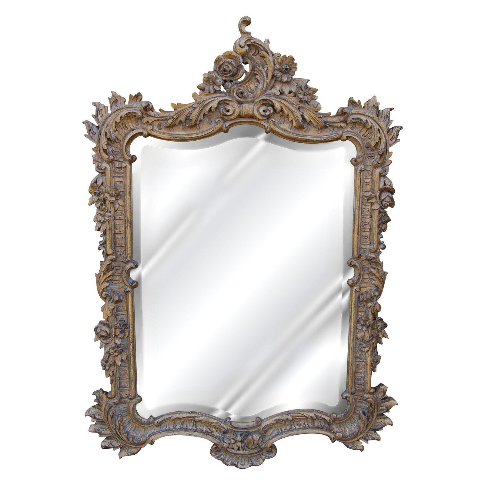 Hickory Manor House Ornate English Mirror 27w X 38h In 7138