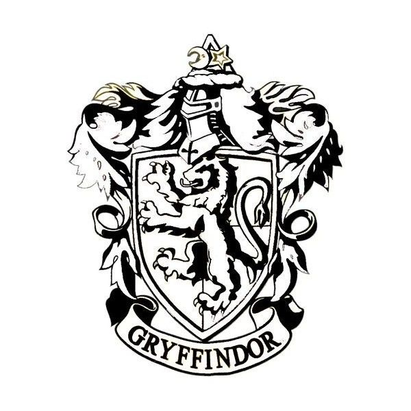 Harry Potter Coloring Pages House Crests Pictures