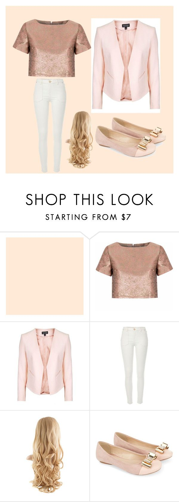 """""""Untitled #42"""" by zebramissy ❤ liked on Polyvore featuring Glamorous, Topshop, River Island and Monsoon"""