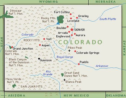 Where Id Love To Live Good Stuff Pinterest Colorado Maps - Colorado in us map